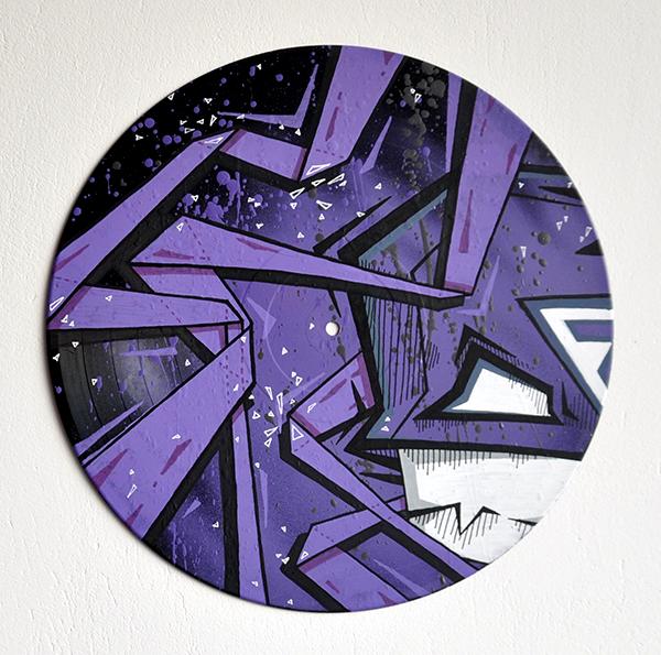 Image of Purple vinyle