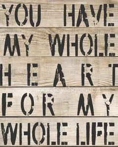 Image of Whole heart.