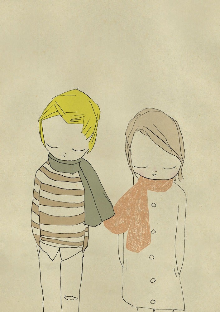Image of I like your scarf
