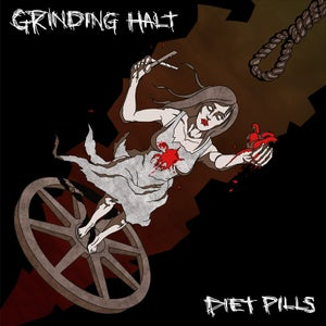 Image of [DISTRO] Grinding Halt/Diet Pills split 7""
