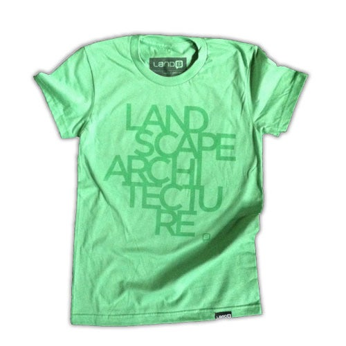Image of Landscape Architecture Tee (Light Green)