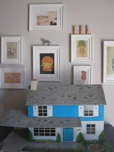 image de Maison de poupée vintage