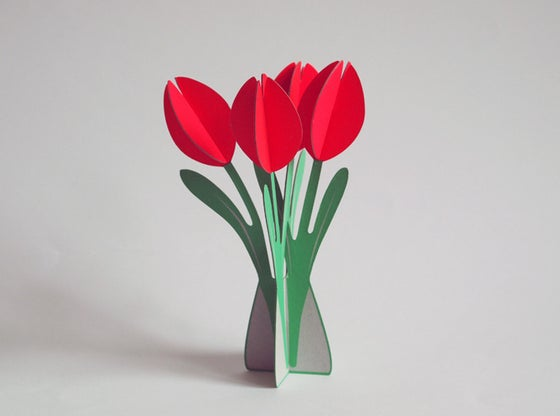Image of cut&make Tulips -