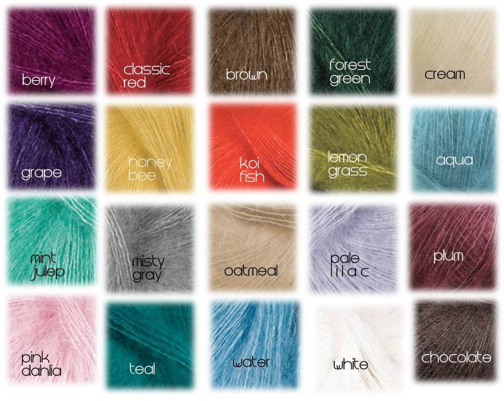 Image of Lace Mohair Headbands