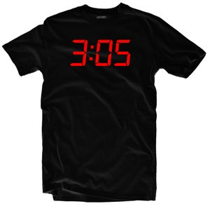 """Image of LIKE MIKE """"3:05"""" Blk/Red"""