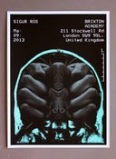 Image of  Sigur Ros poster Brixton Academy 03/09/13