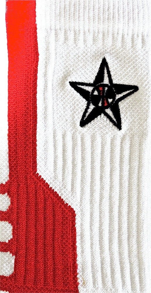 Image of Team USA Nike Elite Crew Socks (Red)