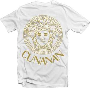 """Image of House Of Cunanan Limited """"GOLD"""" T-Shirt (White)"""