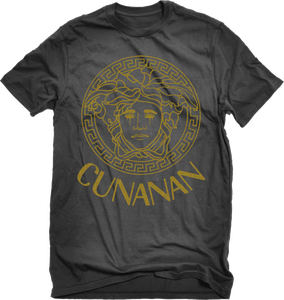 """Image of House Of Cunanan Limited """"GOLD"""" T-Shirt (Black)"""