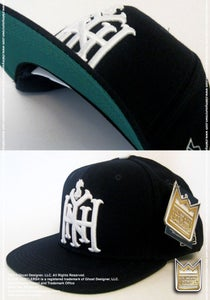 Image of New York Is For Hustlers™ ***Snap Back Cap*** (Navy/White)