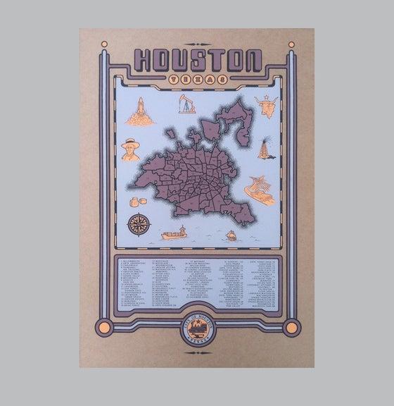 Image of houston map