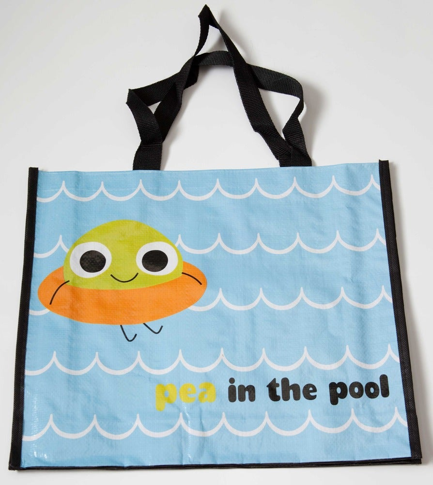 Image of Pea in the Pool Graphic Tote