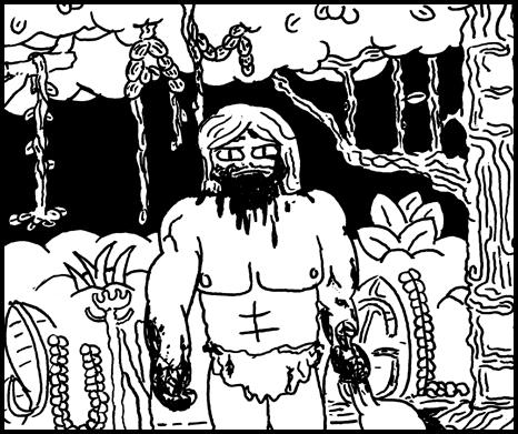 Image of I Am the Jungle Minicomic