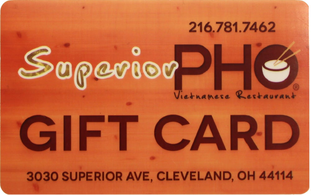 Image of Superior Pho Gift Card