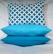 Image of Hand Painted - Harmony - Throw Pillow Cover