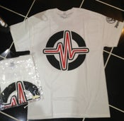 Image of Jovel - 'Pulse' Logo WHITE Tee