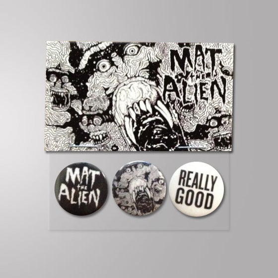 Image of Buttons - Pins (3 Pack MTA , Really Good & Skulls)