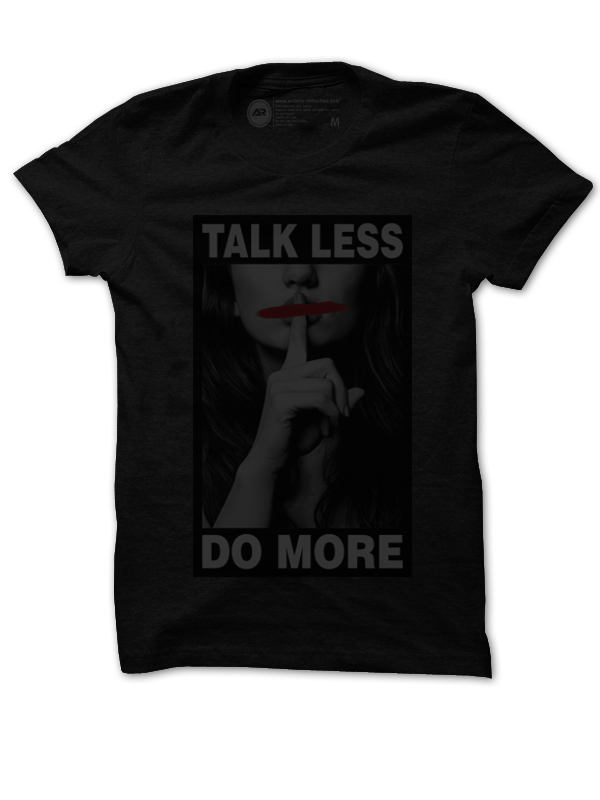 Image of Talk Less Do More