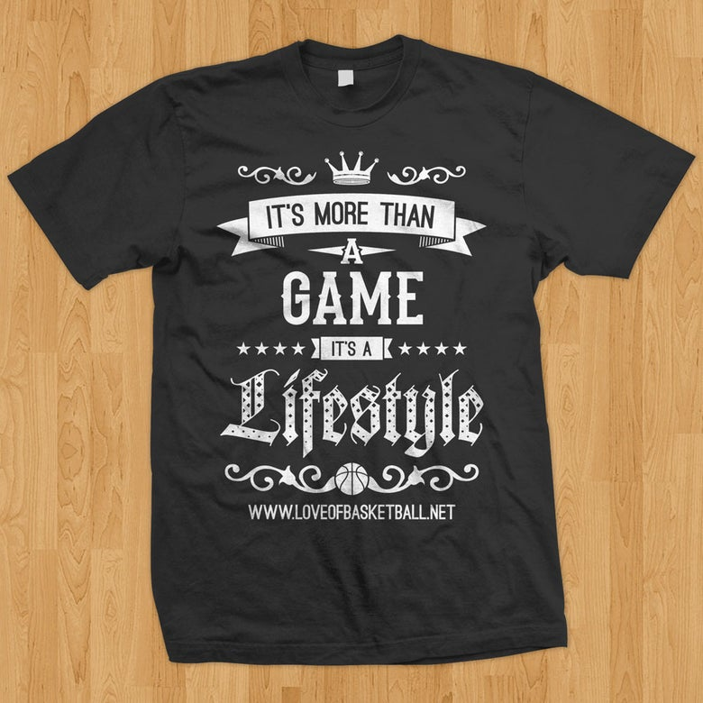 """Image of """"More Than a Game"""" Tee"""