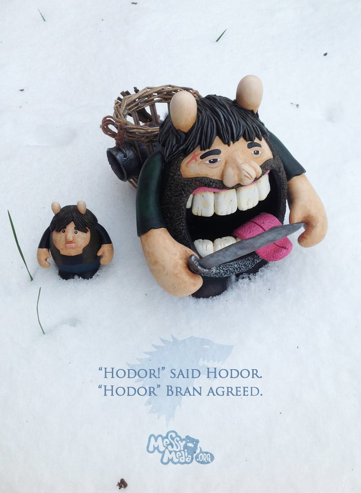 Image of Hodor & Bran | Dudebox Custom