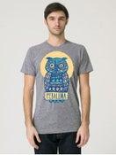 Image of Owl Shirt - Athletic Grey
