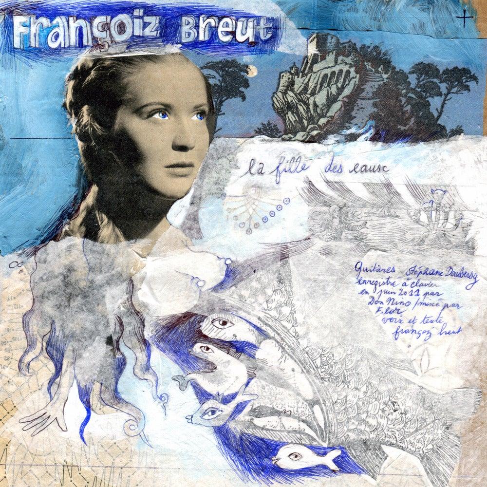 Image of Françoiz Breut / Fránçois and the Atlas Mountains - La Fille des Eaux (7'')