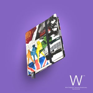 Image of Whitebook Haute Couture H025, Silk, James Bond print, 240p. (fits iPad/Mini)