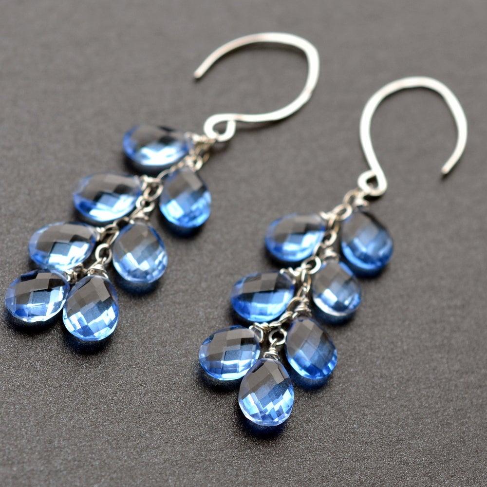 Image of Serena Ice Blue Quartz Droplets