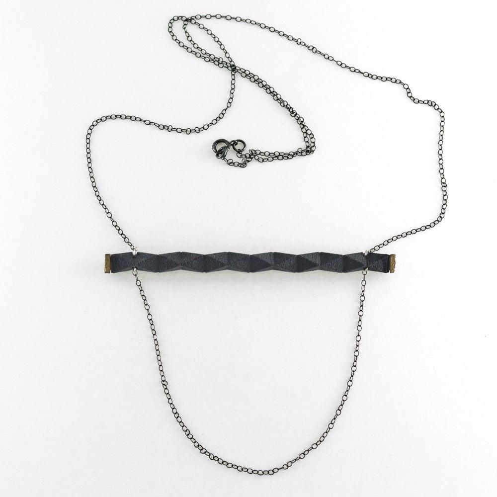 Image of rigid bar necklace