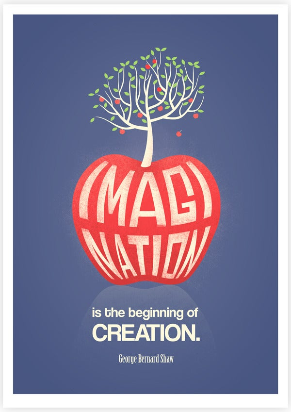 Image of Imagination Is The Beginning of Creation