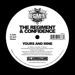 """Image of Yours And Mine / We Gon 7"""" (black vinyl, limited edition of 400 copies)"""