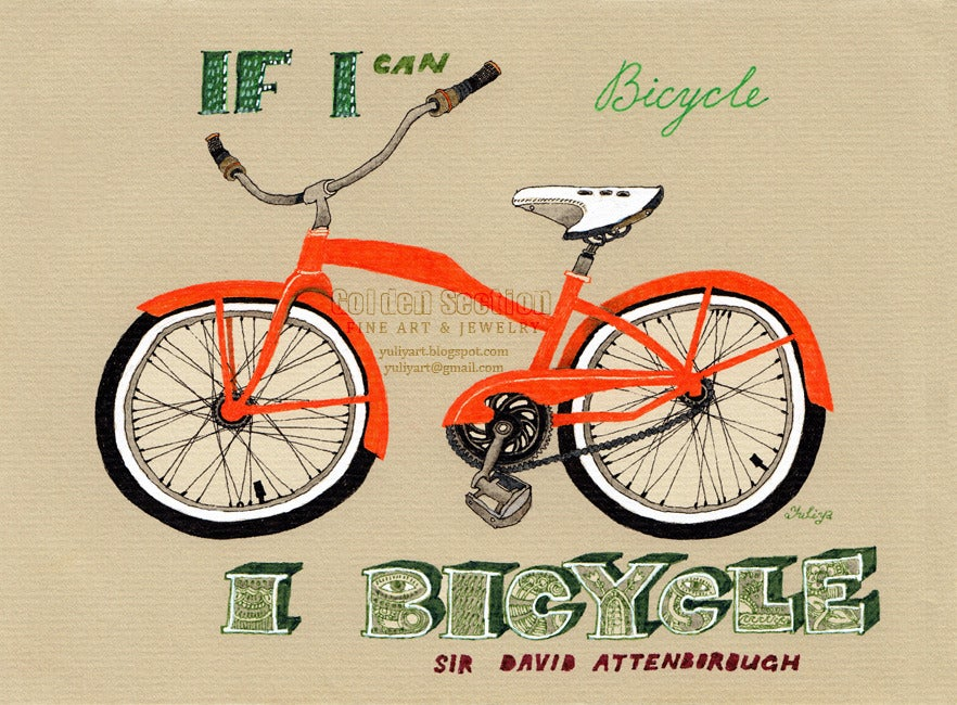 Image of If I Can Bicycle, I Bicycle