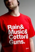"""Image of """"Manchester"""" T- Shirt RED"""