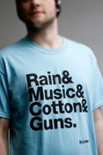"""Image of """"Manchester"""" T- Shirt BLUE"""