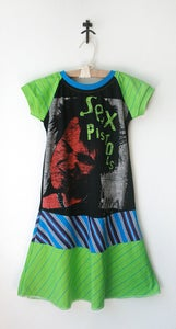 Image of 8/9 (re)DRESS *SEX PISTOLS* Black/Green/Aqua