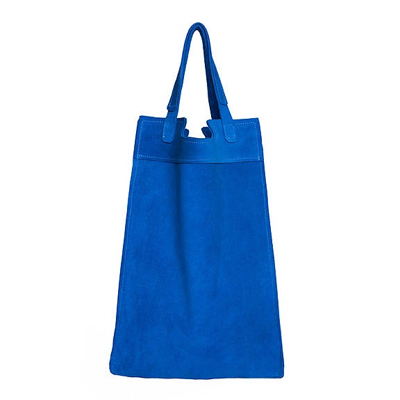 Image of Emily Dickinson Tote | cobalt