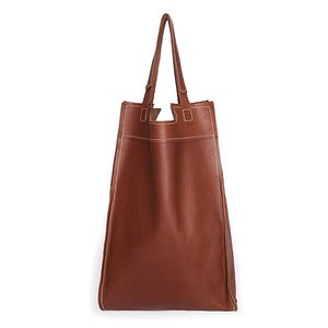 Image of Emily Dickinson Tote | brown clay