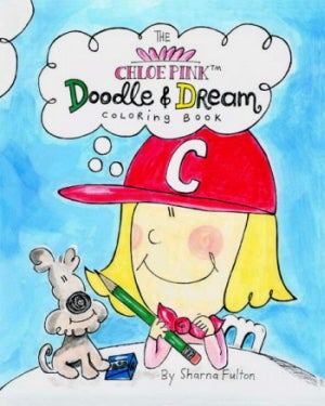 Image of The Chloe Pink Doodle & Dream Coloring Book