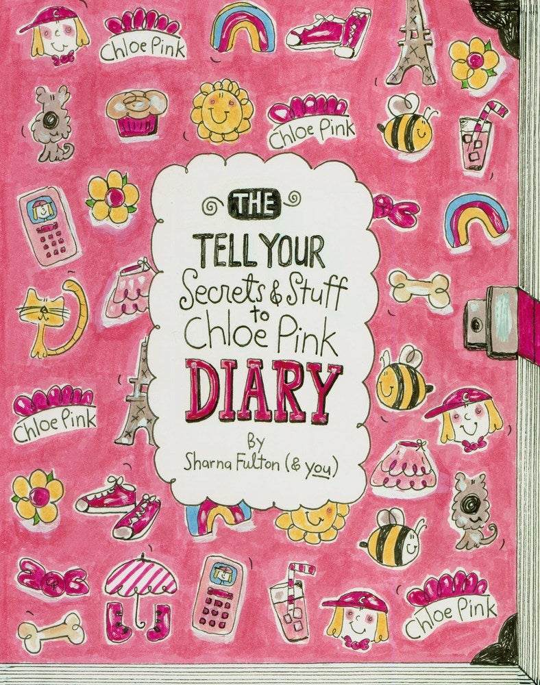 Image of The Tell Your Secrets & Stuff To Chloe Pink Diary