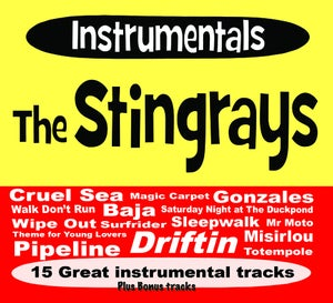 Image of Instrumentals - The Stingrays