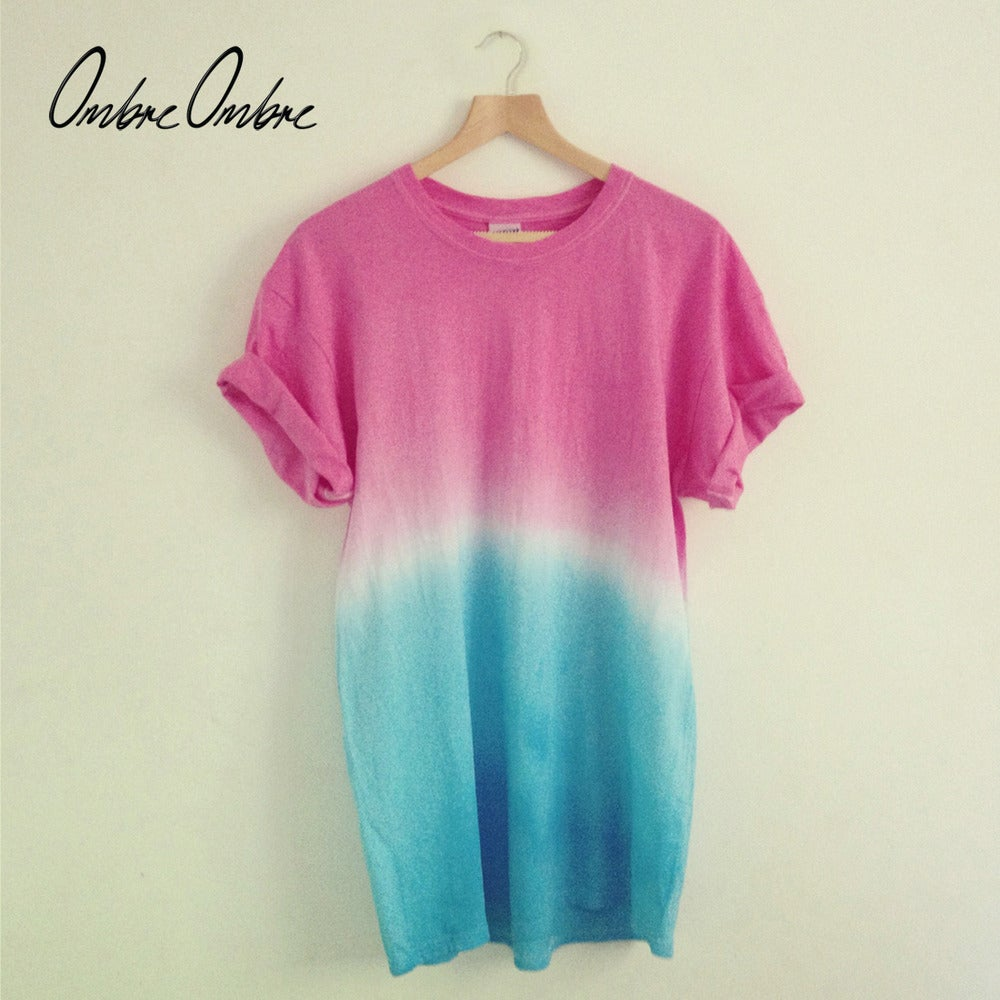 Image of Pink Blue T-Shirt