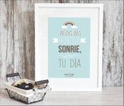 Image of Lámina -Buenos días princesa, sonríe, que hoy es tu día-