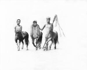Image of Centaur Elder- Original Drawing- Kirsty Whiten