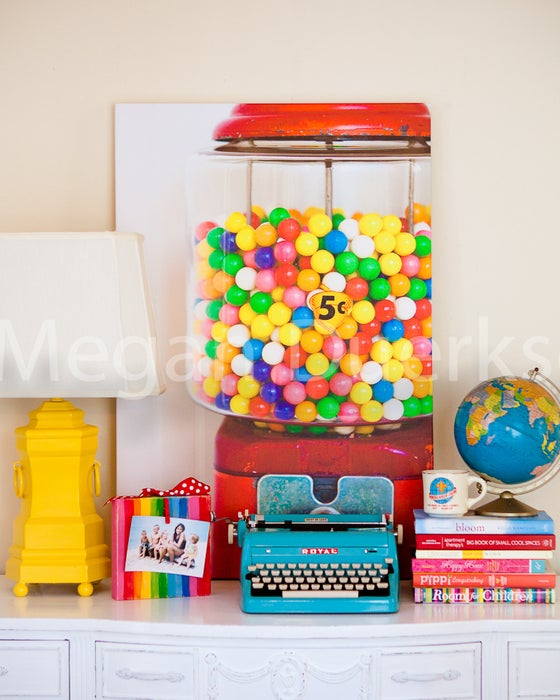 Image of Gumball Machine Canvas