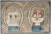 Image of Cat and Dog tile