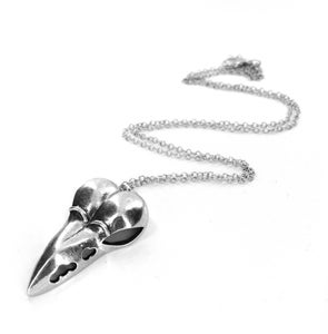 Image of Quirky Bird Skull Necklace