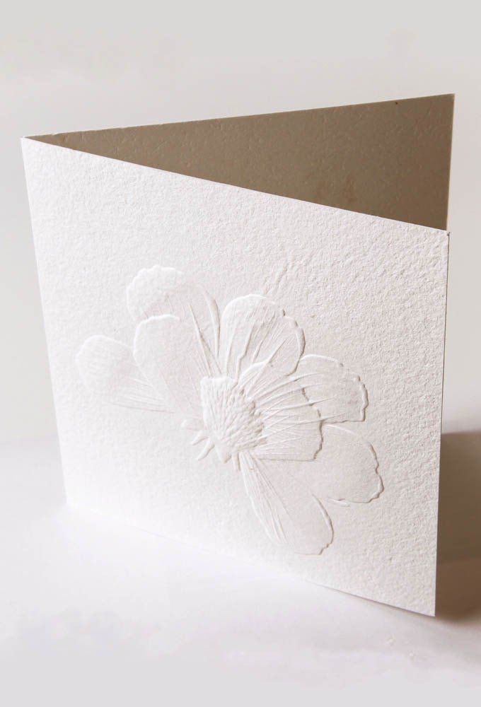 Image of Embossed Gift Card (Love-&-grow)