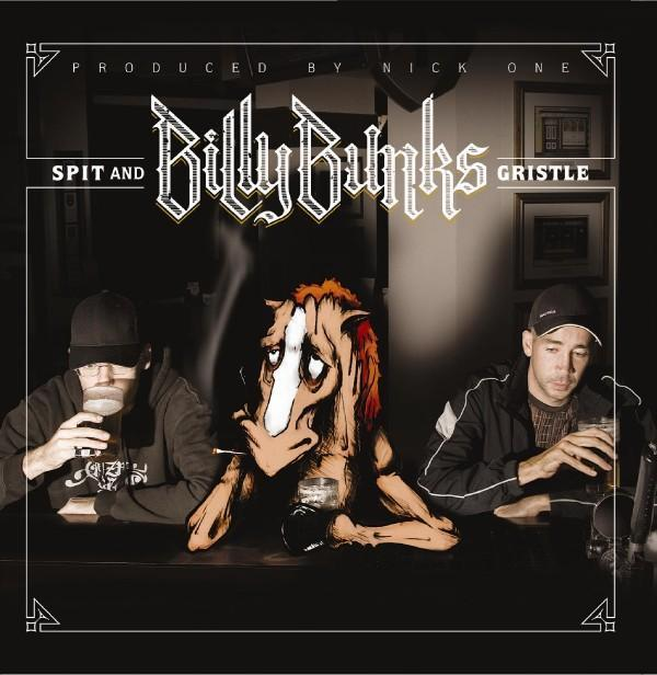 """Image of BILLY BUNKS """"Spit And Gristle"""" CD"""