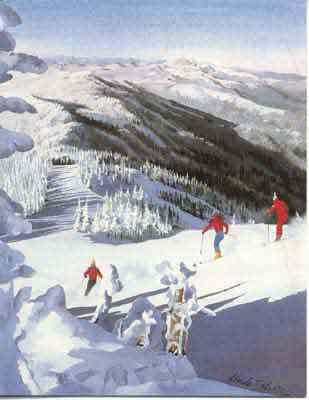 Image of Sugarbush poster & notecard