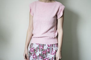 Image of Pink Sweater Top